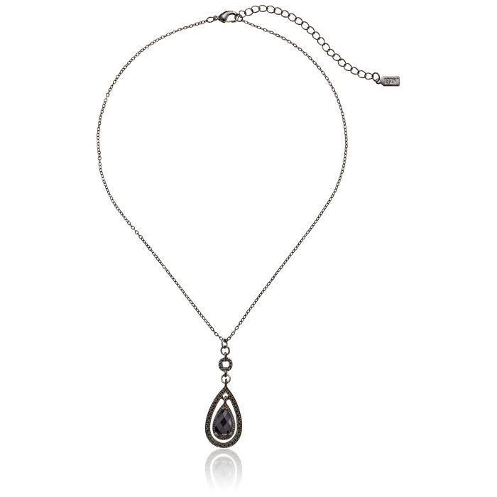 1928 Jewelry Collier avec pendentif Teardrop victorienne, 19