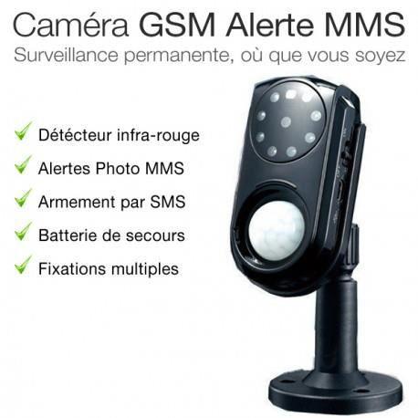 √ Camera De Surveillance Gsm Avec Alerte Sms/mms