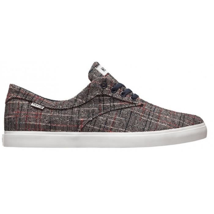 CHAUSSURES HUF SUTTER NAVY TEXTILE skateshoes atfRsfx