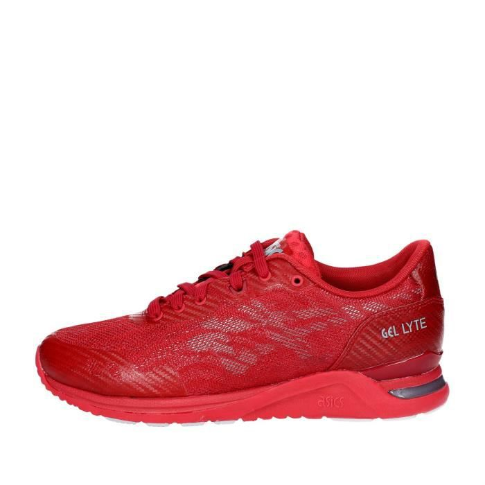 Asics Sneakers Homme Rouge, 46