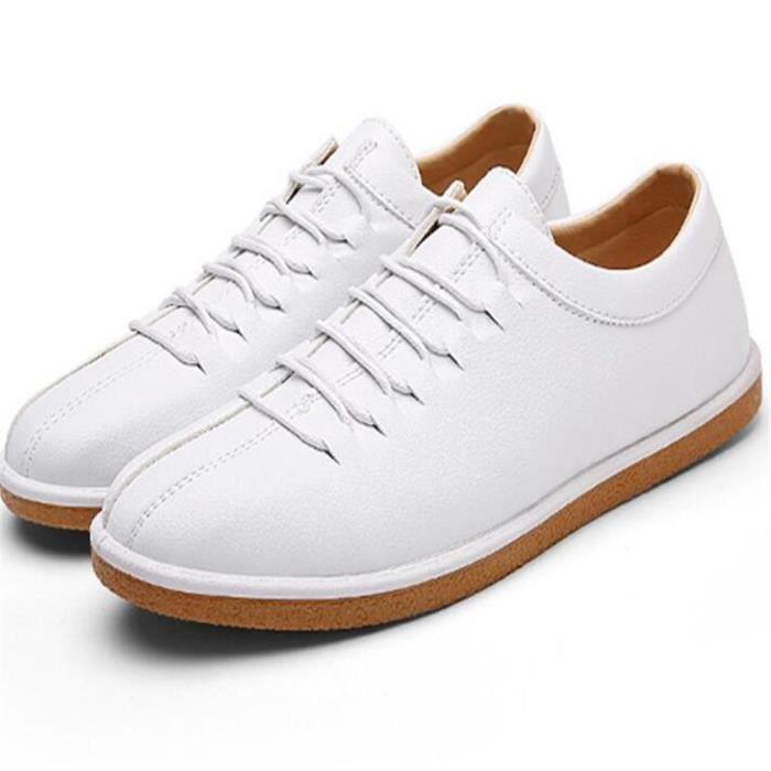 Chaussures ModeMoccasin Homme Taille Durable Grande Plus Confortable De Couleur Antidérapant décontractées Moccasins hommes pour BIqrI8O