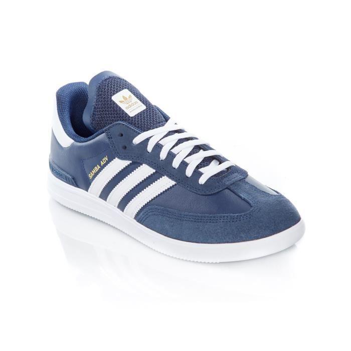 Adv Collegiate Chaussures Samba Bleu Adidas Blanc Footwear Fonce tffwOqgE