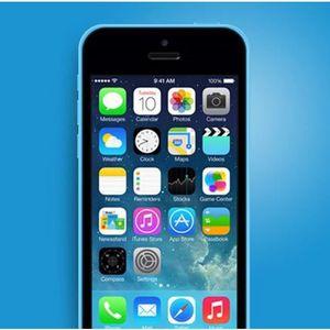 iphone 5c bleu achat vente iphone 5c bleu pas cher. Black Bedroom Furniture Sets. Home Design Ideas