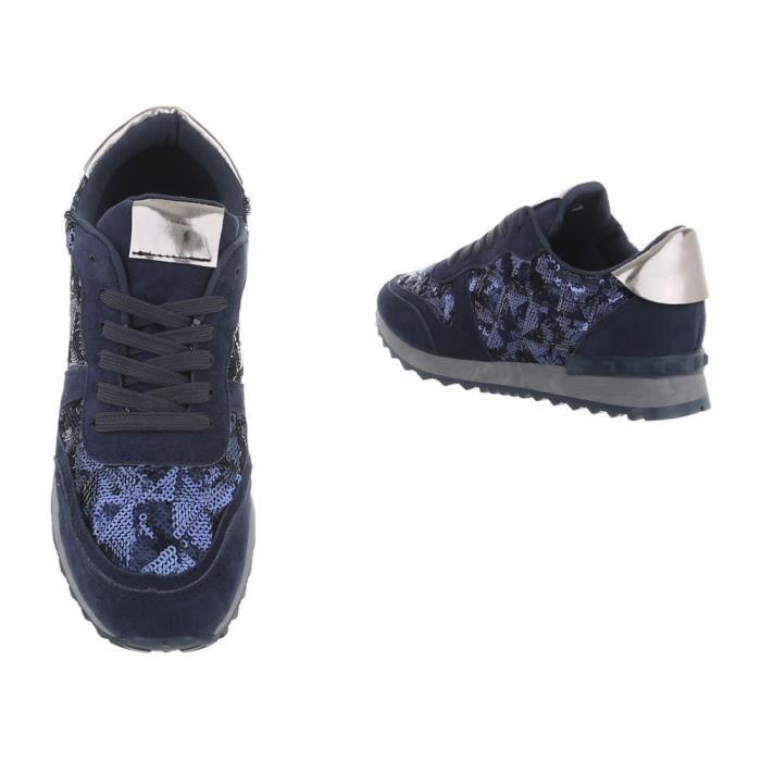 Clair Clair vert Foncé Bleu Baskets Femme rose bleu Sneakers bleu Clair 36 Blanc Chaussures beige gris Foncé or gris Des noir pxa7FwqxH