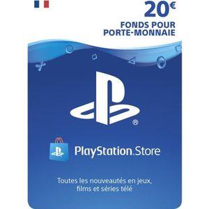 Playstation Network Live Card 20 ? PS4 - PS3 - PS VITA