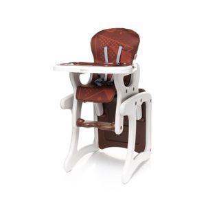 CHAISE HAUTE  Confortable chaise haute / table enfant FASHI 2en1