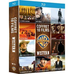 DVD SÉRIE Coffret Western 10 Films Blu-Ray