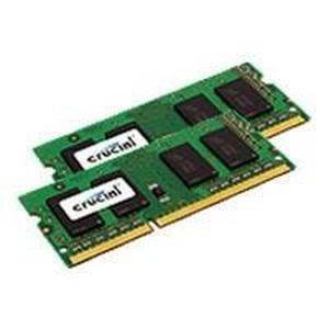 MÉMOIRE RAM Crucial - Mémoire - 4 Go : 2 x 2 Go - SO DIMM 2…