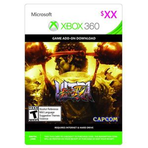 EXTENSION - CODE DLC Ultra Street Fighter IV pour Xbox 360