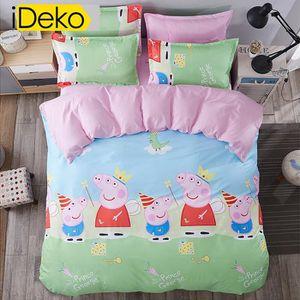 housse de couette peppa pig achat vente housse de couette peppa pig pas cher soldes d s. Black Bedroom Furniture Sets. Home Design Ideas