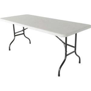 TABLE DE JARDIN  Table pliante d'appoint 200 cm table pliable 8 pla
