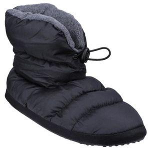 CHAUSSON - PANTOUFLE Cotswold Camping - Chaussons bottes - Femme Noir