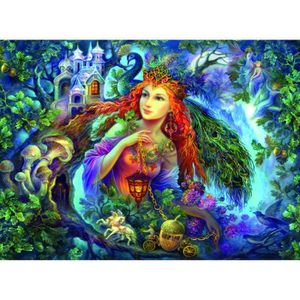 PUZZLE Puzzle 500 pièces Fairy Of The Forest