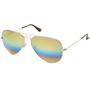 LUNETTES DE SOLEIL Ray-ban Rb3025 Aviator Large Metal Non-polarized S