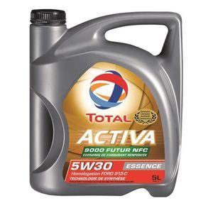 HUILE MOTEUR TOTAL Huile Auto Activa 9000 Essence 5W30 5L