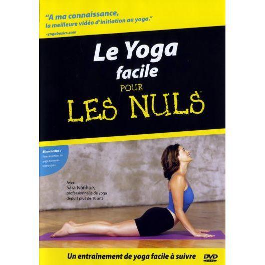 DVD DOCUMENTAIRE DVD Le yoga facile pour les nuls