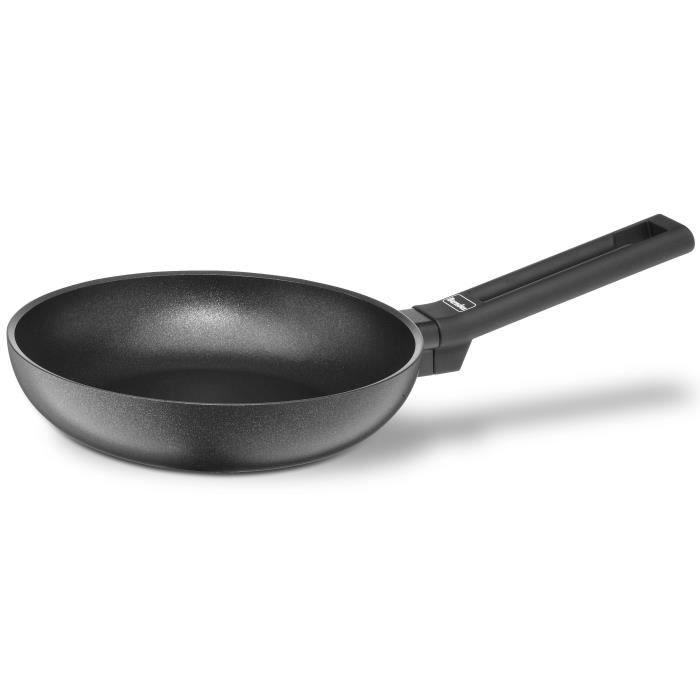 BERNDES Poêle à frire Clever Alu Spécial - Ø 20 cm - Noir - Tous feux sauf induction