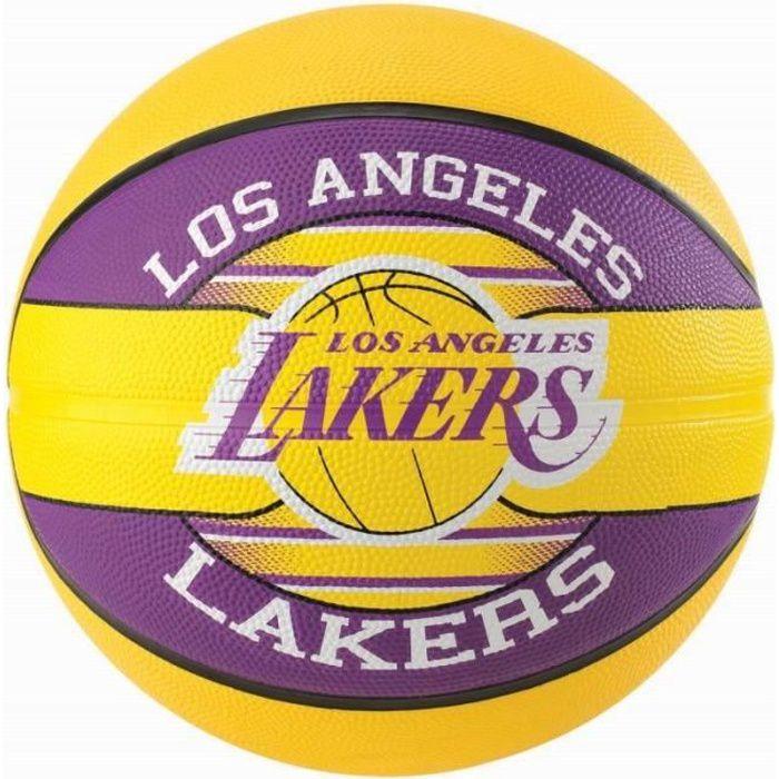 SPALDING Ballon de basket NBA L.A Lakers