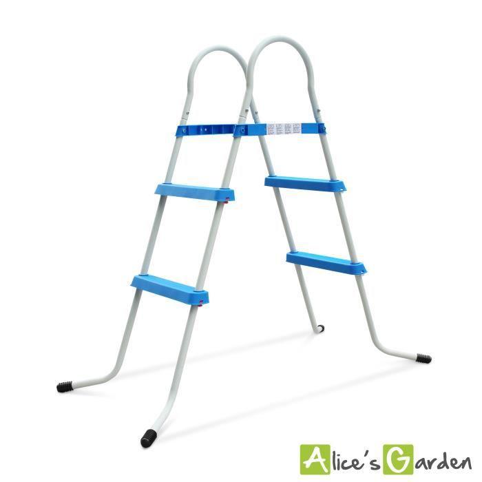 echelle escalier pour piscine achat vente pas cher. Black Bedroom Furniture Sets. Home Design Ideas
