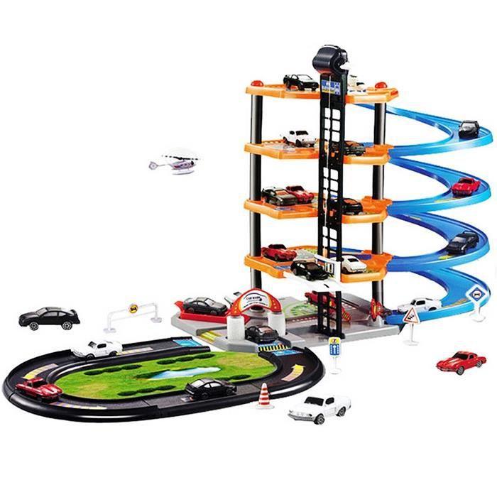 Enfants Bricolage Toy Modèle Car Lot Parking 3d De Pour TlFJ1Kc3