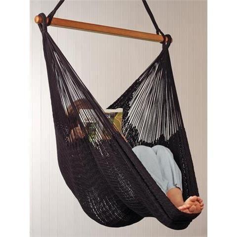 hamac chaise mexicain noir achat vente hamac hamac chaise mexicain noir cdiscount. Black Bedroom Furniture Sets. Home Design Ideas