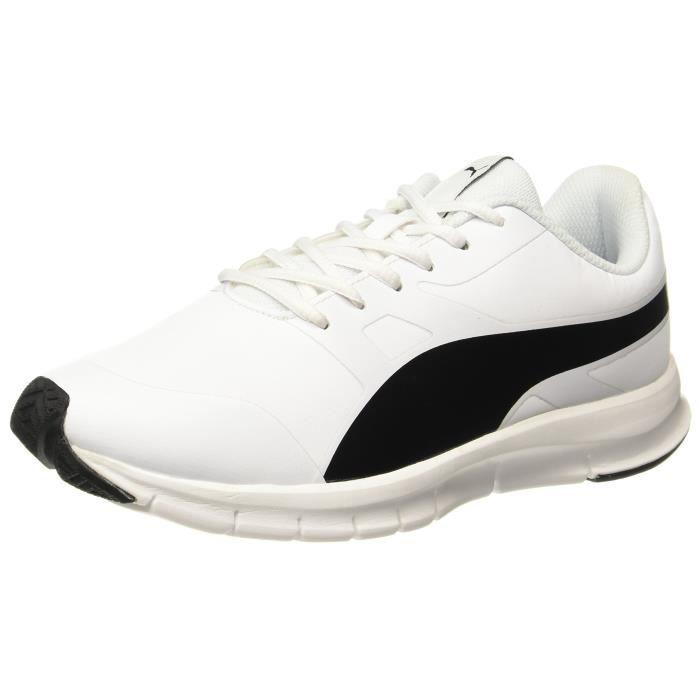 Course Noir Blanc Chaussures Et Flexracer Puma Pour De Sl Unisexes pWf0wEa