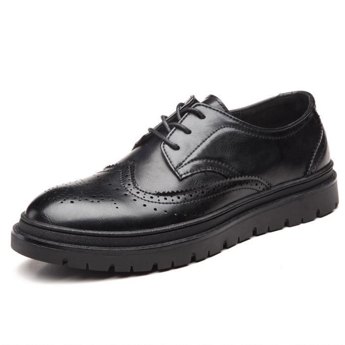 JOZSI Chaussure Homme Cuir Automne et Hiver Classique mode de ville SHT-XZ187