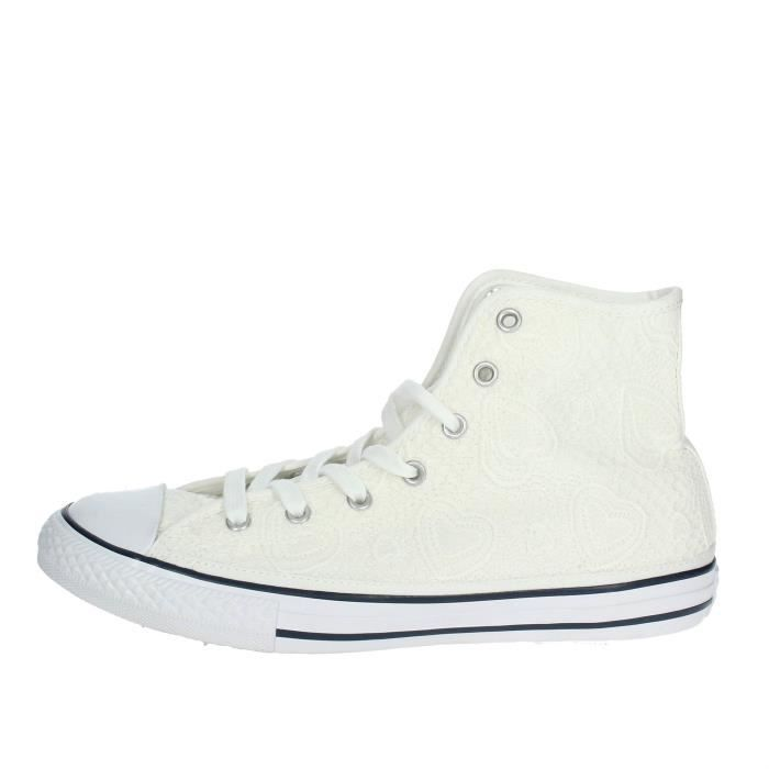 converse blanche fille 35