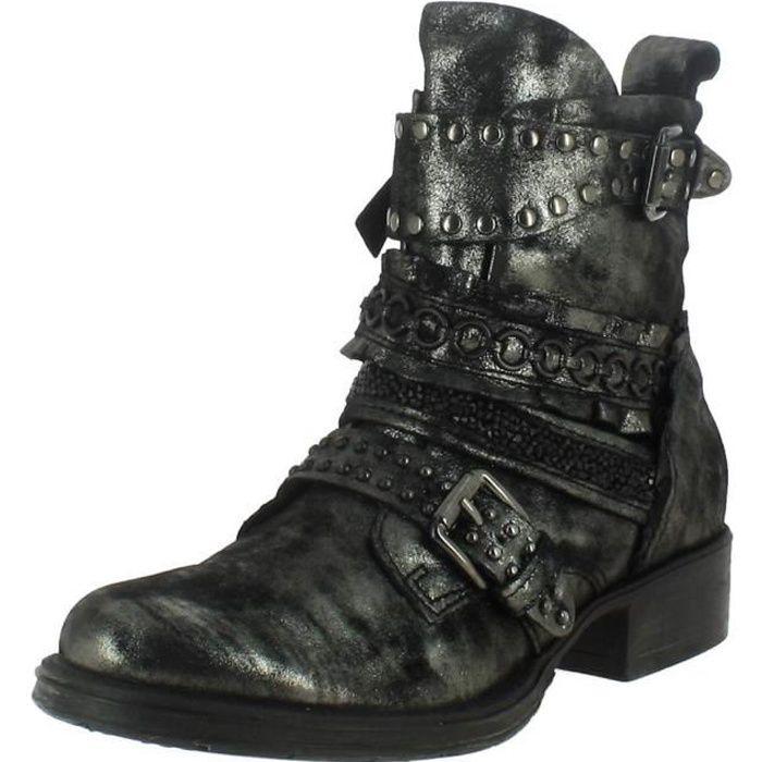 Argent Mjus Femme Boots Gris Achat 185681 Bottines wqHXfxRw