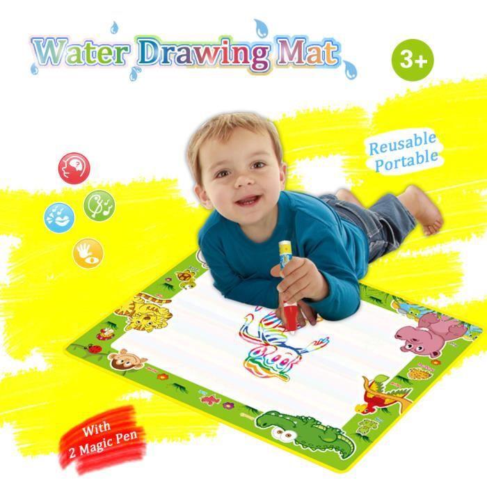 2332 1 Aqua Doodle Eau Tapis De Dessin Peinture Voyage Planche Avec