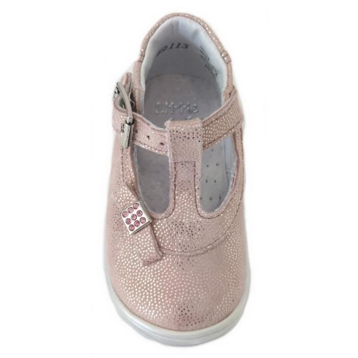 Little Mary Babies Rose Argent (23 - Fin - rose)
