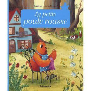 Livre 3-6 ANS La petite poule rousse