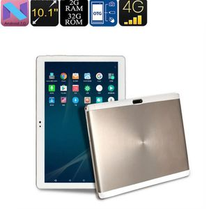 TABLETTE TACTILE 10.1inch Android 7.0 Quad-Core 2 + 32GB Tablet PC