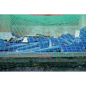 FILET DE REMORQUE Filet container 4,0x3,0 m MW 45 vert sans Caoutcho