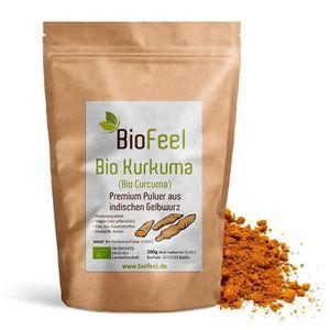 TONUS - VITALITÉ BioFeel - Poudre de curcuma Bio, 200g