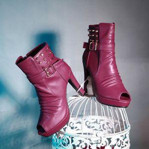 bottes courtes-Pure Colorpais pompe de talon ... UjgGZ