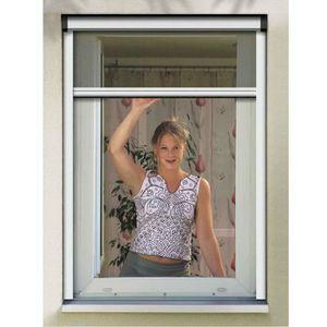 MOUSTIQUAIRE OUVERTURE WINDHAGER RM Enrouleur fenêtre 130x160cm - Blanc
