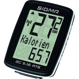 COMPTEUR POUR CYCLE Sigma 09162 Compteur de vélo sans Fil Mixte Adulte