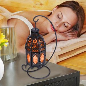PROJECTEUR - LAMPE Lampe feu flammePurificateur D'air Chambre cristal