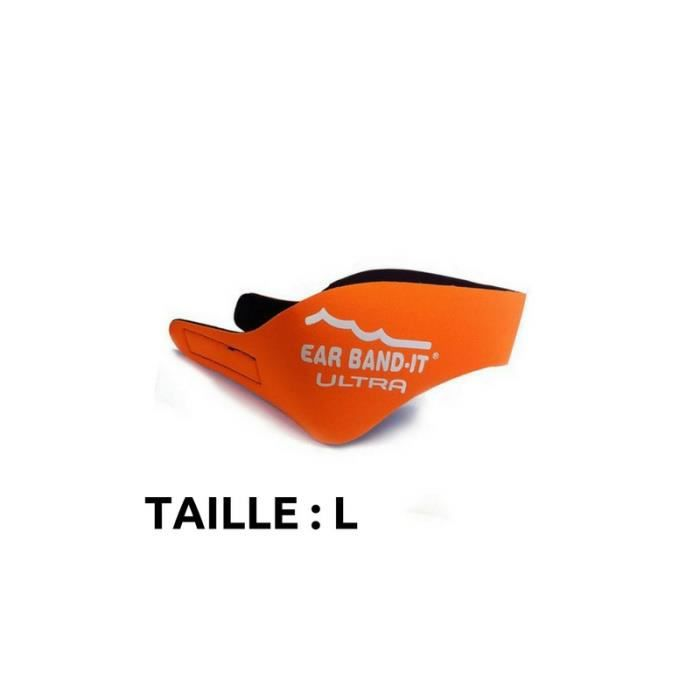 Bandeaux Néoprène Natation EarBand It UltraLOrange L Orange