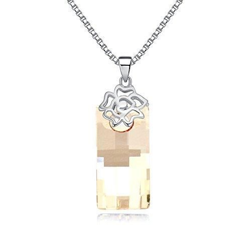 Les cristaux Swarovski femmes Collier pendentif à diamants. Tous les jours - Tenues de soirée Fashion bijoux. KL58M