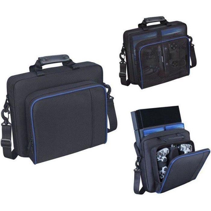 59c006712d Sac de transport rembourré PlayStation. Sacoche de protection pour console  de jeux PS4 avec bandoulière réglable.