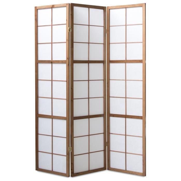 paravent japonais achat vente paravent japonais pas cher soldes d s le 10 janvier cdiscount. Black Bedroom Furniture Sets. Home Design Ideas