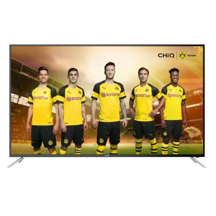 Téléviseur LED CHiQ Téléviseur Smart TV LED UHD65E6200ISX2 - 65''