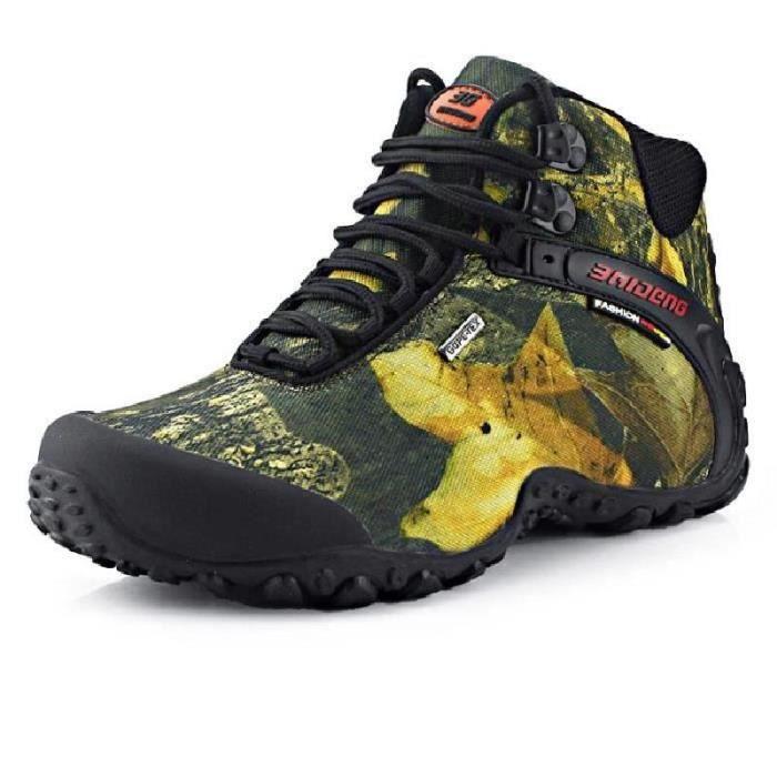SHELOVEIT® Chaussures de randonnée pour homme Chaussures de marche à pied ou8wS
