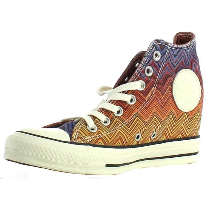 865338951009c Converse - Converse All Star Lux Mid Perw Chaussures Femme Talon ...