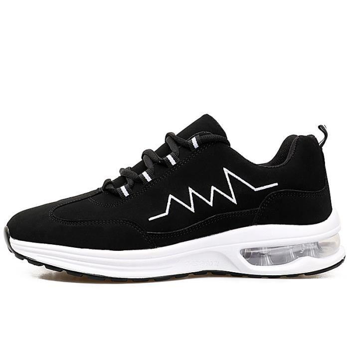 JOZSI Basket Hommes été hiver Respirant chaussures Hommes SHT-XZ207Noir39