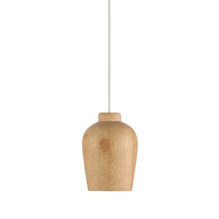 suspension lustre abat jour bois cuisine salle manger clairage luminaire plafond achat. Black Bedroom Furniture Sets. Home Design Ideas