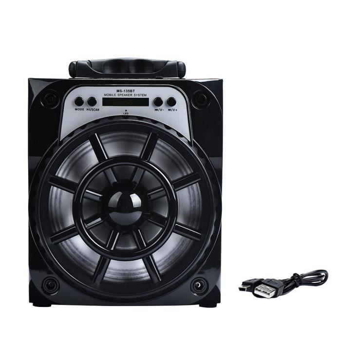 Extérieur Sans Fil Bluetooth Haut-parleur Portable Super Bass Avec Radio Usb - Tf Aux Fm Haut-parleurs 438