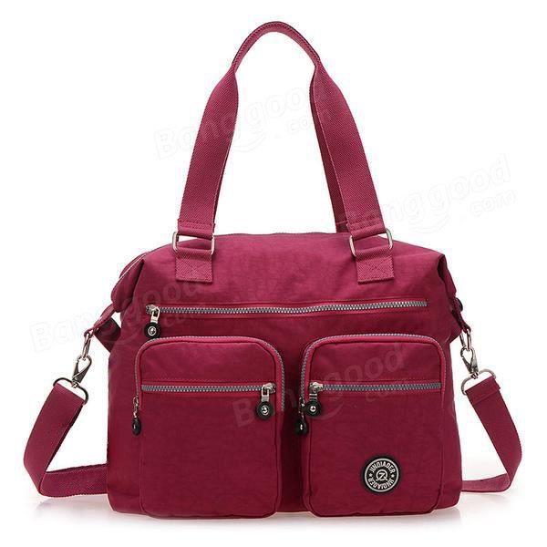 SBBKO2391Femmes sacs à main en nylon occasionnels sacs à bandoulière imperméable poche multiples crossbody extérieure sacs Bleu